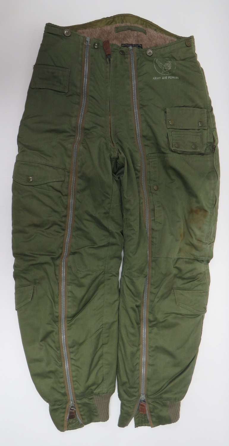 WW2 U.S.A.A.F Type A-11-A Flying Trousers