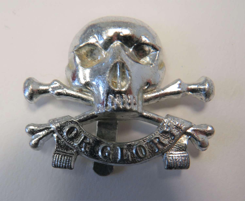 17/21st Lancers Anodised Cap Badge