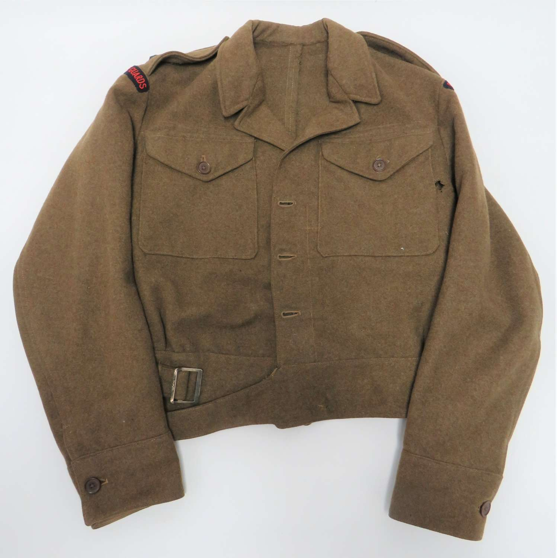 WW2 Royal Horse Guards Officers Battle Dress Jacket