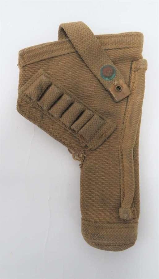 WW2 Tank Crew Open Top Revolver Holster