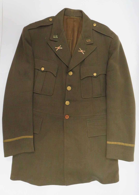 WW2 American Artillery Officer's Tunic
