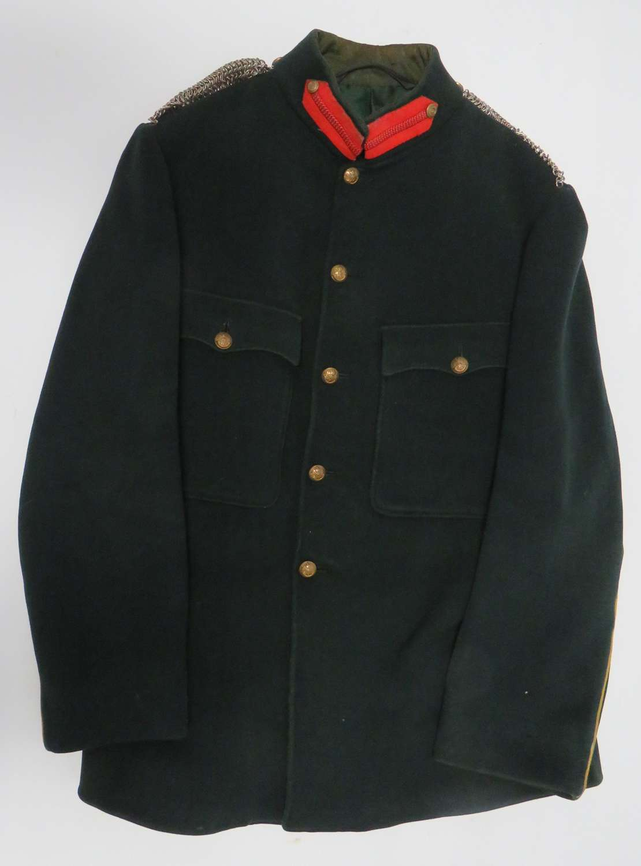 Post 1901 Sherwood Rangers Yeomanry Staff Officers Dress Tunic