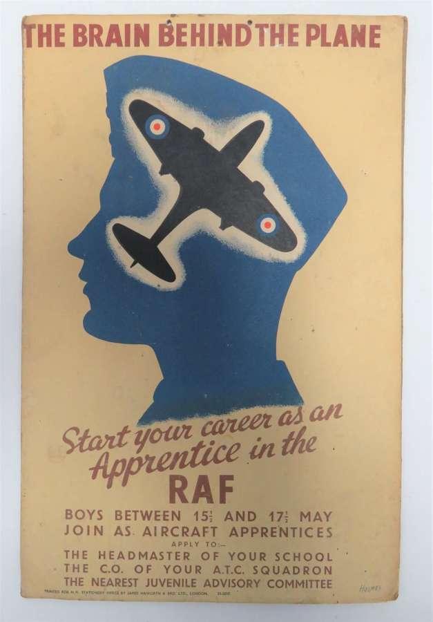 WW2 Period R.A.F Apprentices Poster