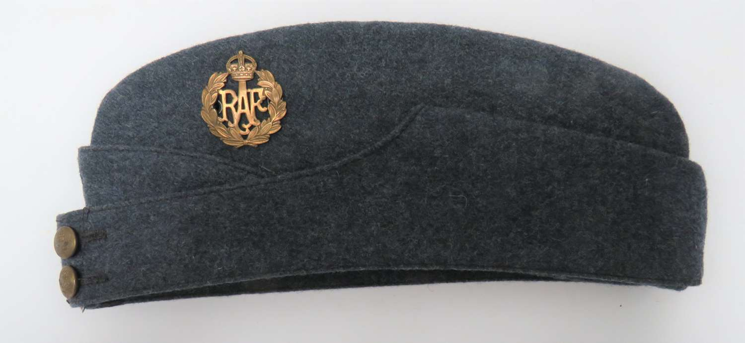WW2 Royal Air Force 1945 Dated Other Ranks Field Service Cap