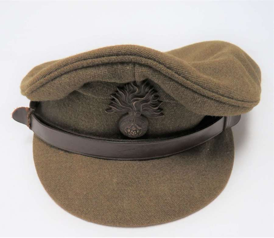 WW2 Royal Fusiliers Officers Service Dress Cap