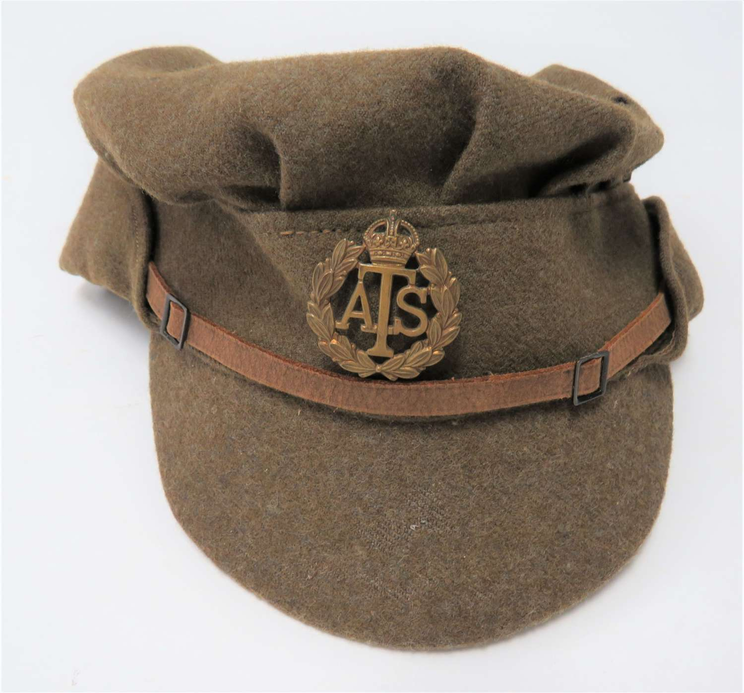 1942 Dated A.T.S Issue Other Ranks Service Dress Cap
