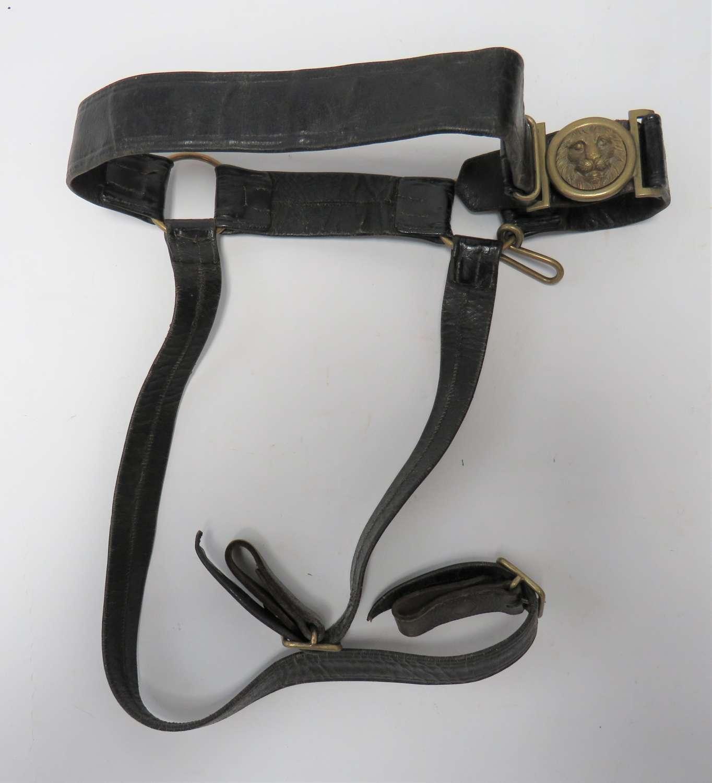 19th Century Officers Sword Belt