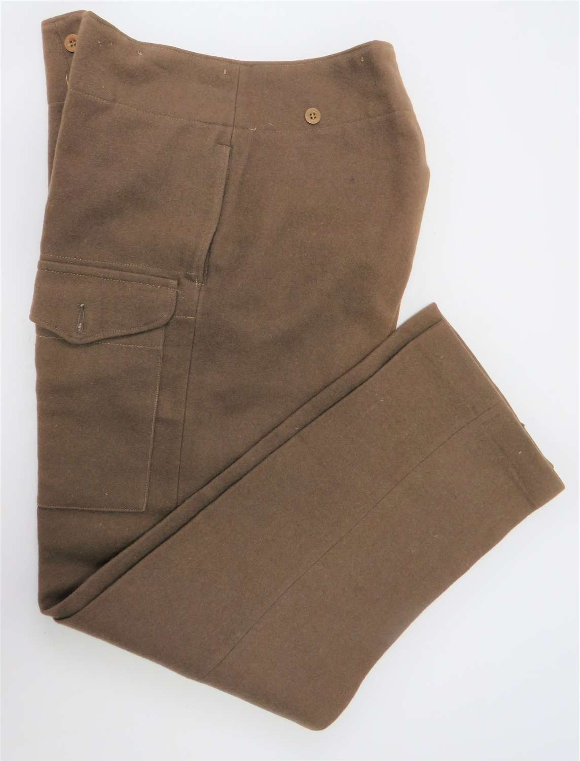 Pair of 1940 Pattern Officer Private Purchase Battledress Trousers