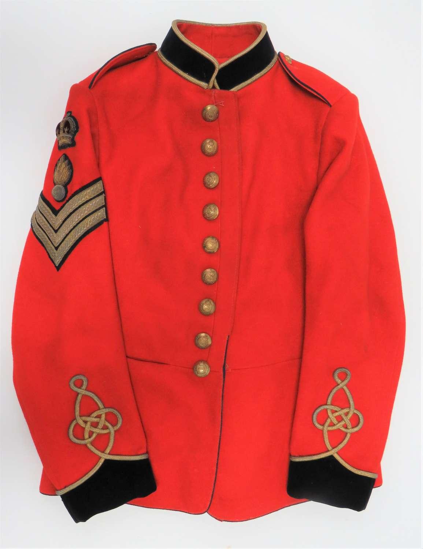 Scarce Pre WW 1 Royal Engineers Senior N.C.O Dress Tunic