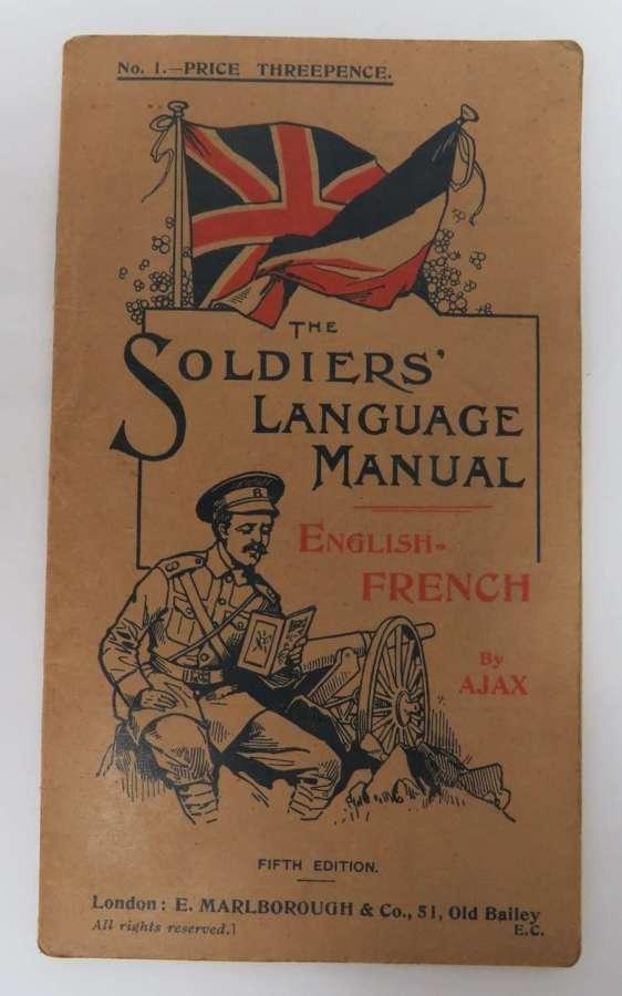 WW1 Soldiers Language Manual