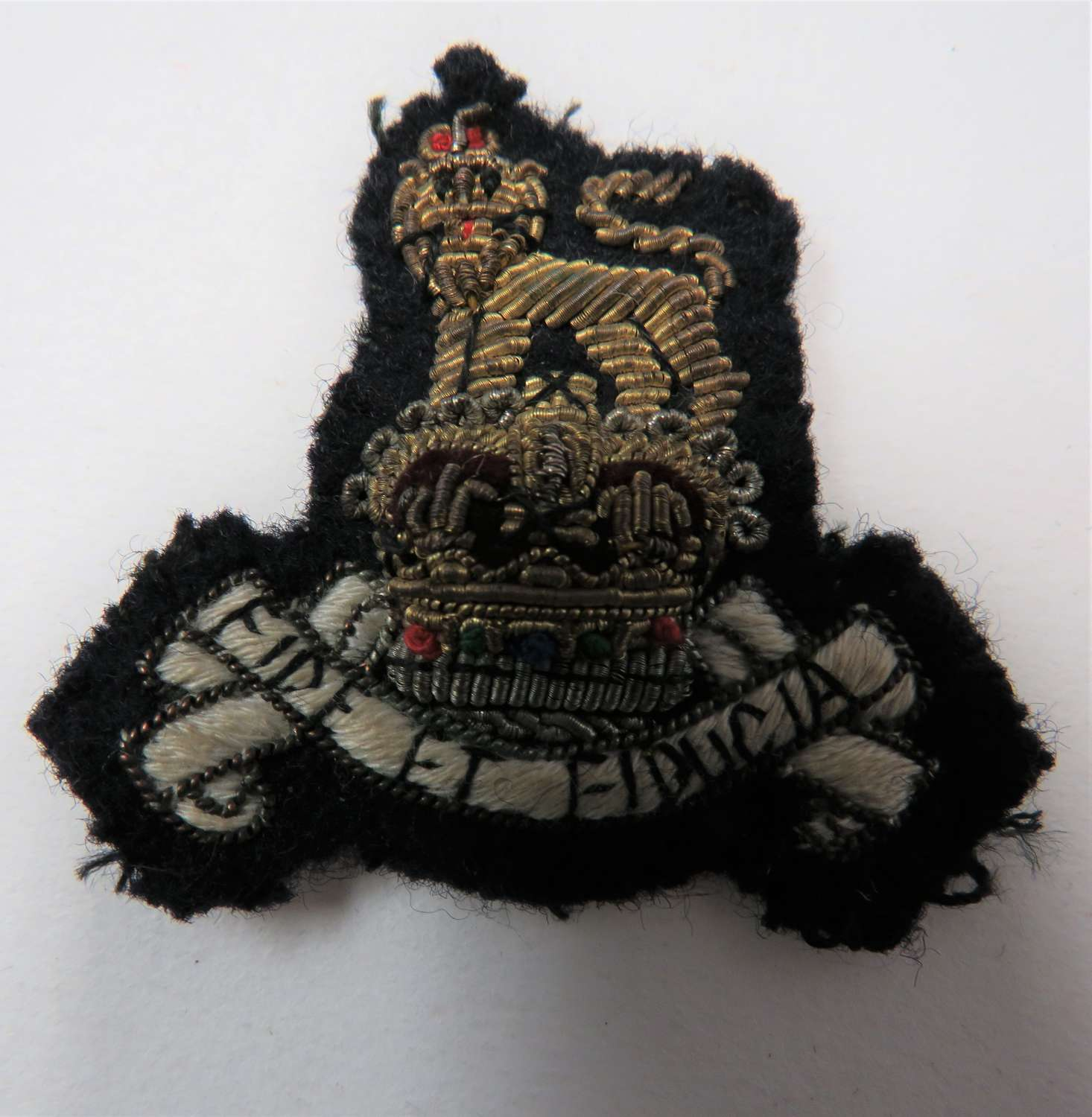 Post 1953 Royal Army Pay Corps Officers Beret Badge