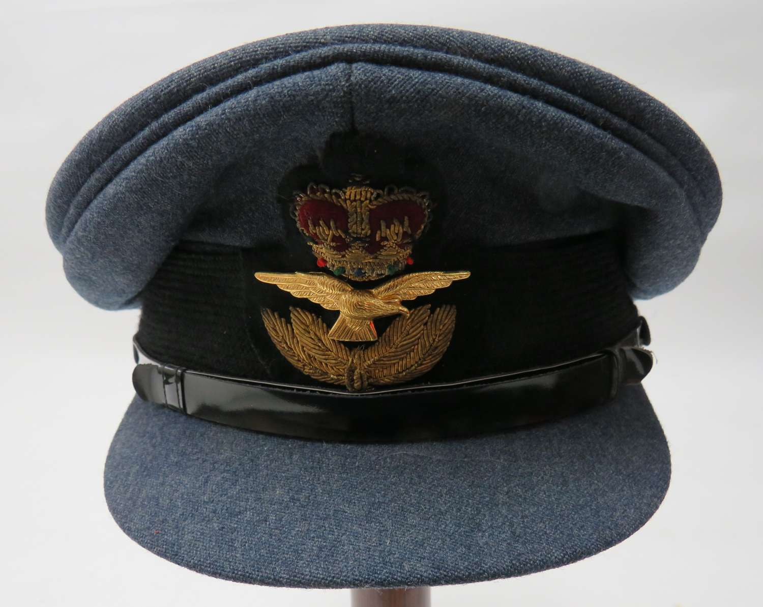Post 1953 Royal Air Force Officers Service Dress Cap