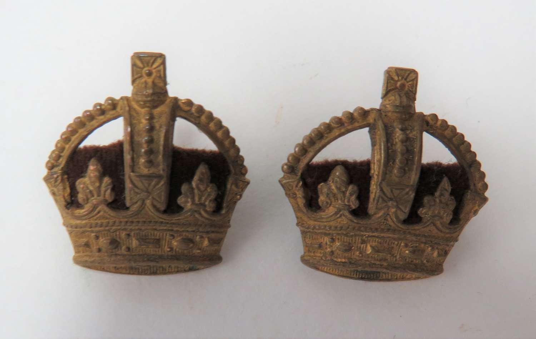 Pair of Majors Crowns