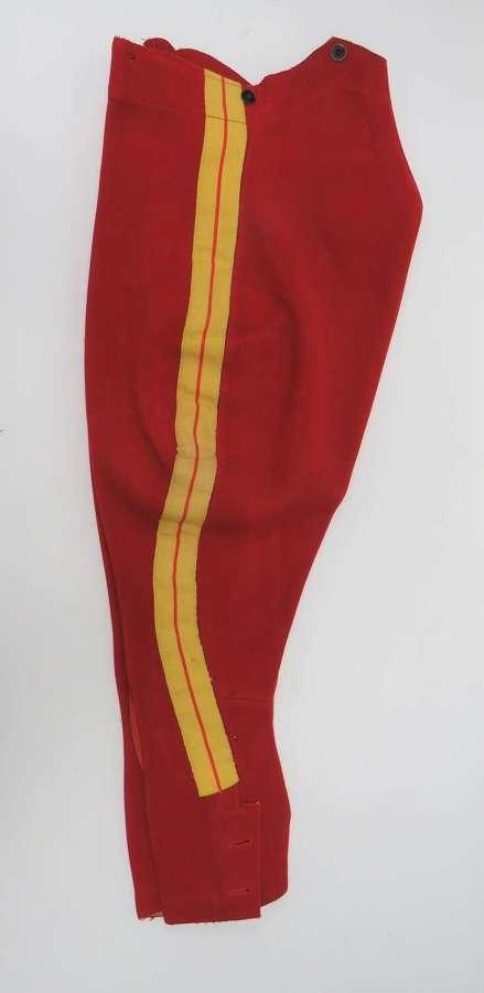 11th Hussars Pre WW1 Dress Breeches