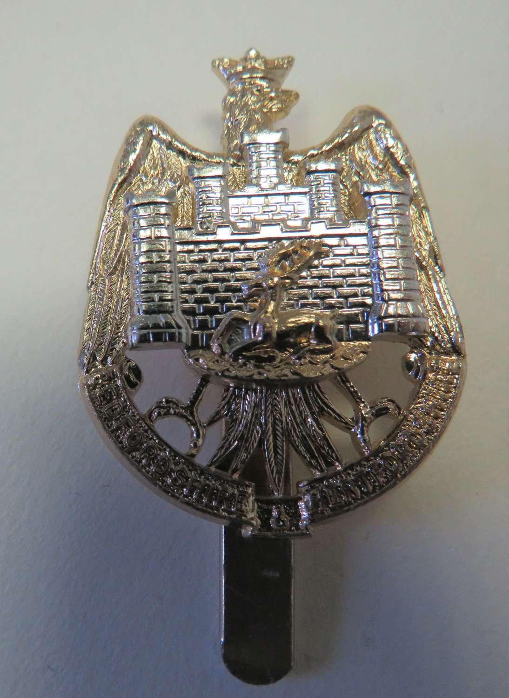 Bedfordshire & Hertfordshire Yeomanry Cap Badge