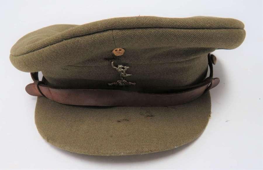 Royal Signals Officers Service Dress Cap