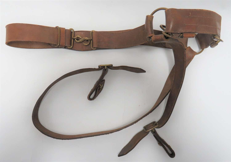 Victorian 1883 Pattern Officers Sword Belt