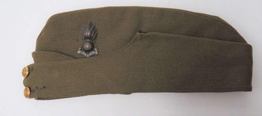 WW2 Royal Engineers Officers Field Service Cap