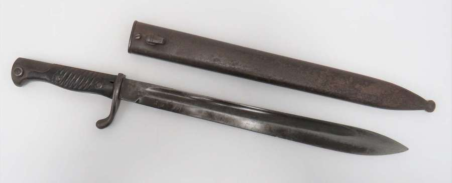 WW1 G98 Mauser Butcher Bayonet . Scarce Maker