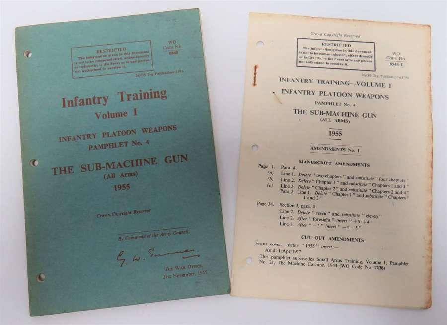 1955 Sterling S.M.G Handbook