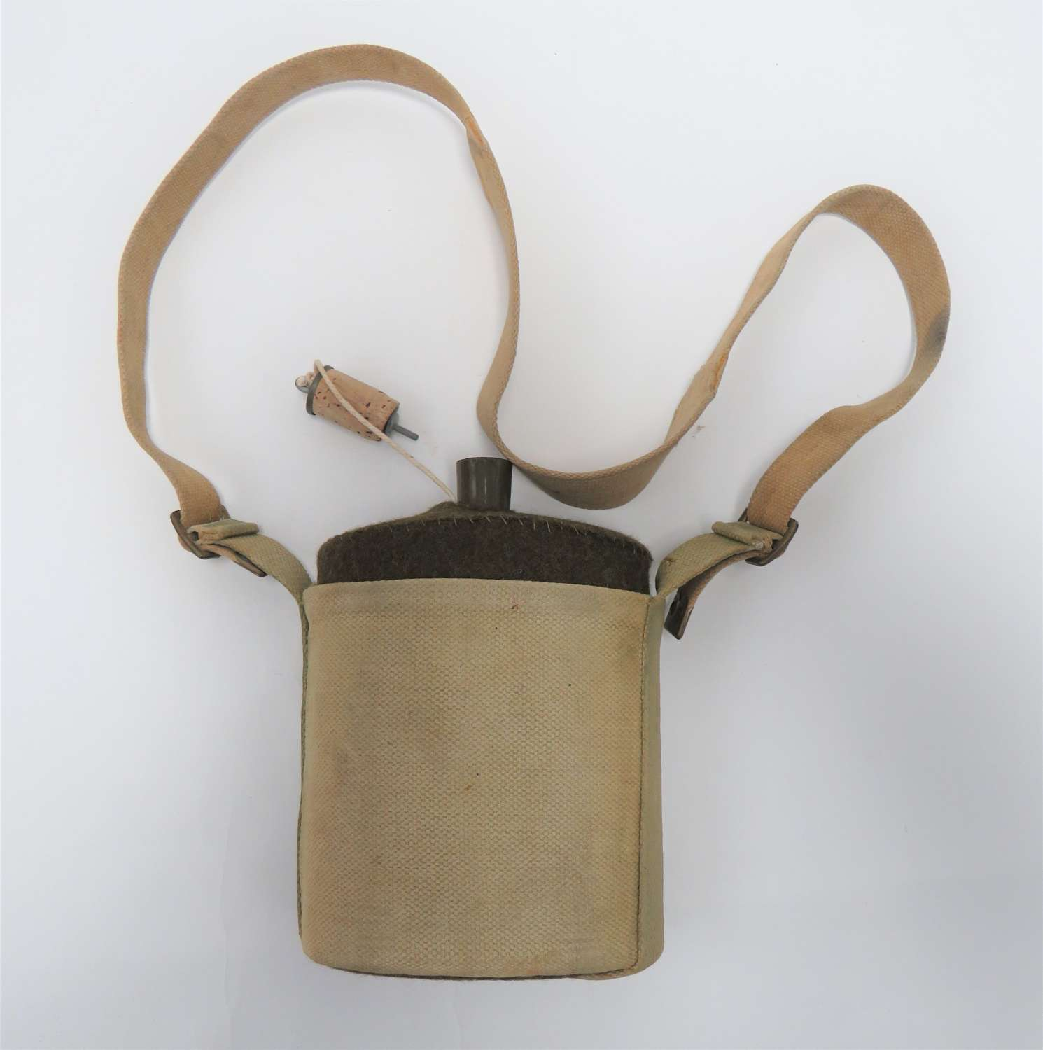 1937 Pattern Waterbottle and Cradle with Shoulder Strap