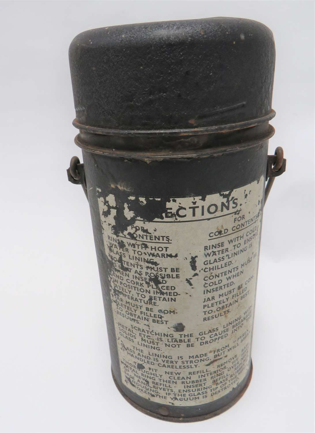 1943 Airborne Pattern Thermos Flask