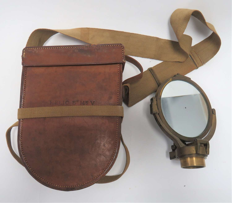 WW1 / WW2 Heliograph Mk V . 5 inch Signal Mirror Boxed Set