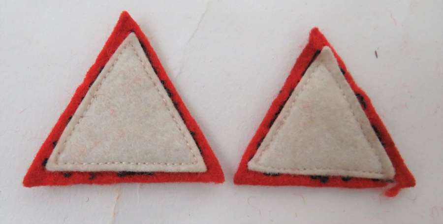 Pair of 1st Infantry Division Formation Badges