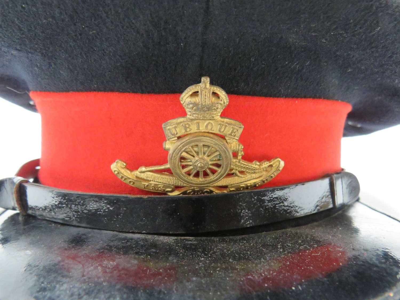 Interwar Royal Artillery Officers Dress Cap . Large Size
