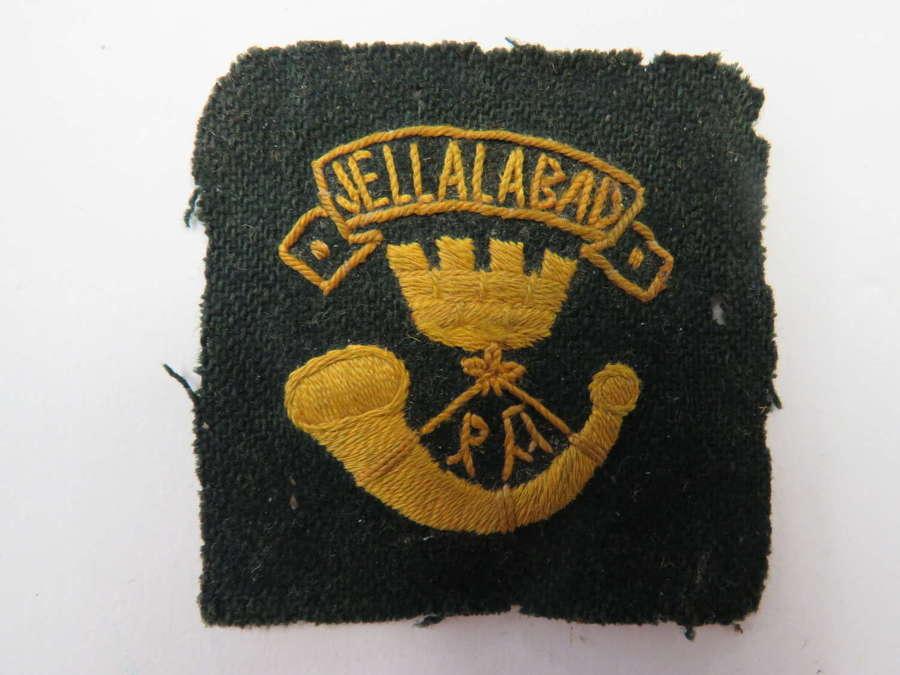 Somerset Light Infantry Foreign Service Helmet Pagri Flash