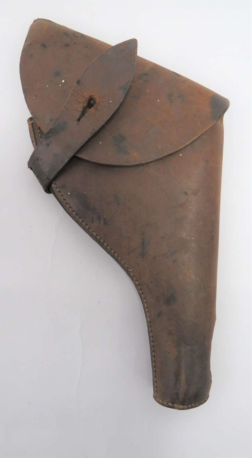WW2 Officers Leather Webley / Enfield  Revolver Holster
