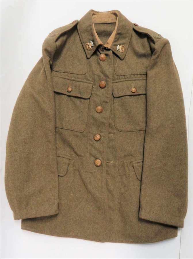 WW2 North Staffordshire Utility Pattern Service Dress Tunic