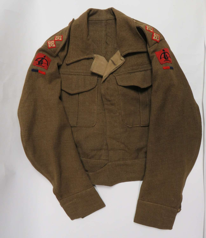 1937 Pattern 1st Type Royal Artillery Officer Battledress Jacket