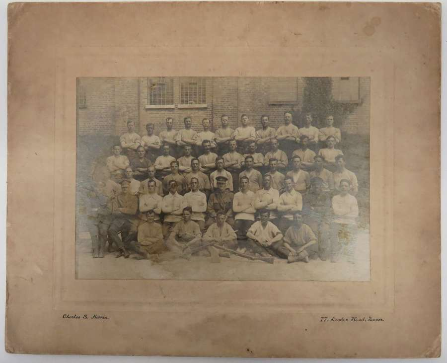 WW1 Skill at Arms Group Photograph