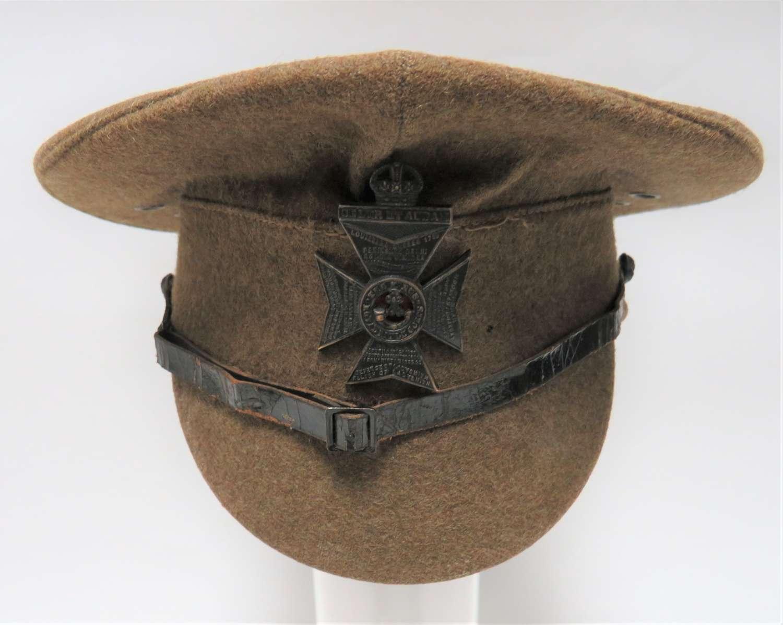 1922 Pattern Kings Royal Rifle Corps N.C.Os Peaked Cap