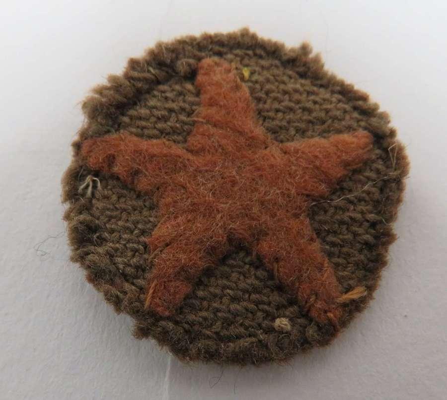 WW2 Japanese Cap Badge for the Soft Cap
