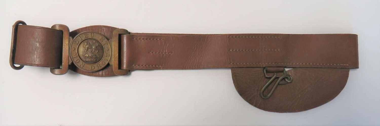 Post 1901 Senior N.C.O 's  Leather Sword Belt