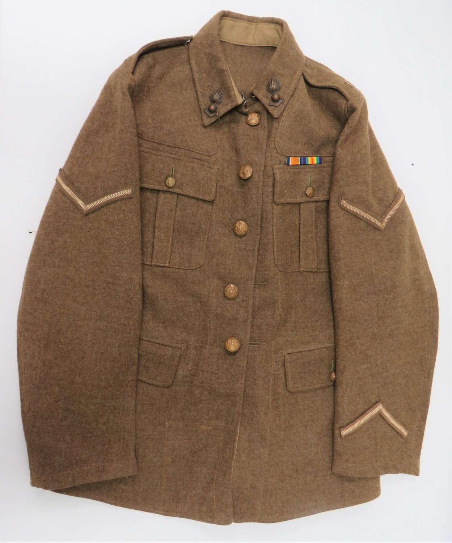 WW2 Royal Artillery 1922 Pattern Service Dress Tunic