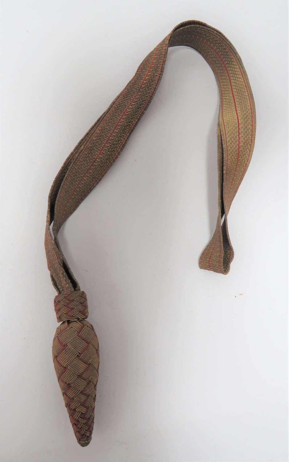 Early 20th Century Infantry Officers Sword Knot