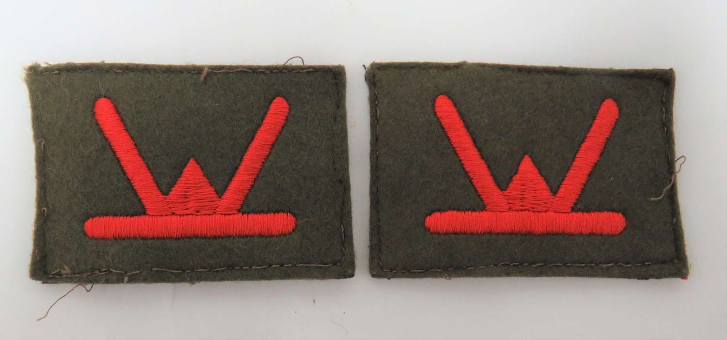 Pair of 53rd Welch Infantry Division Formation Badges