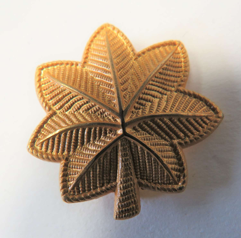 WWII US Army Major Rank Collar Badge