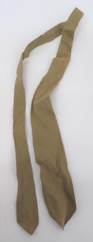 WW1 / WW2 Army Officers Tie