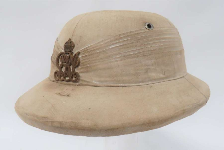 Indian Officers Pith Helmet