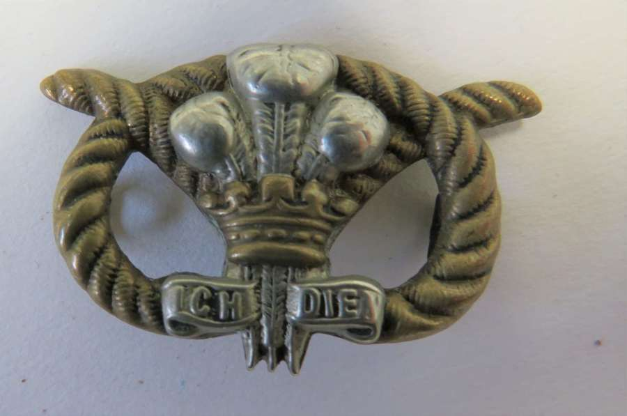 2nd Battalion North Stafford Victorian Collar Badge